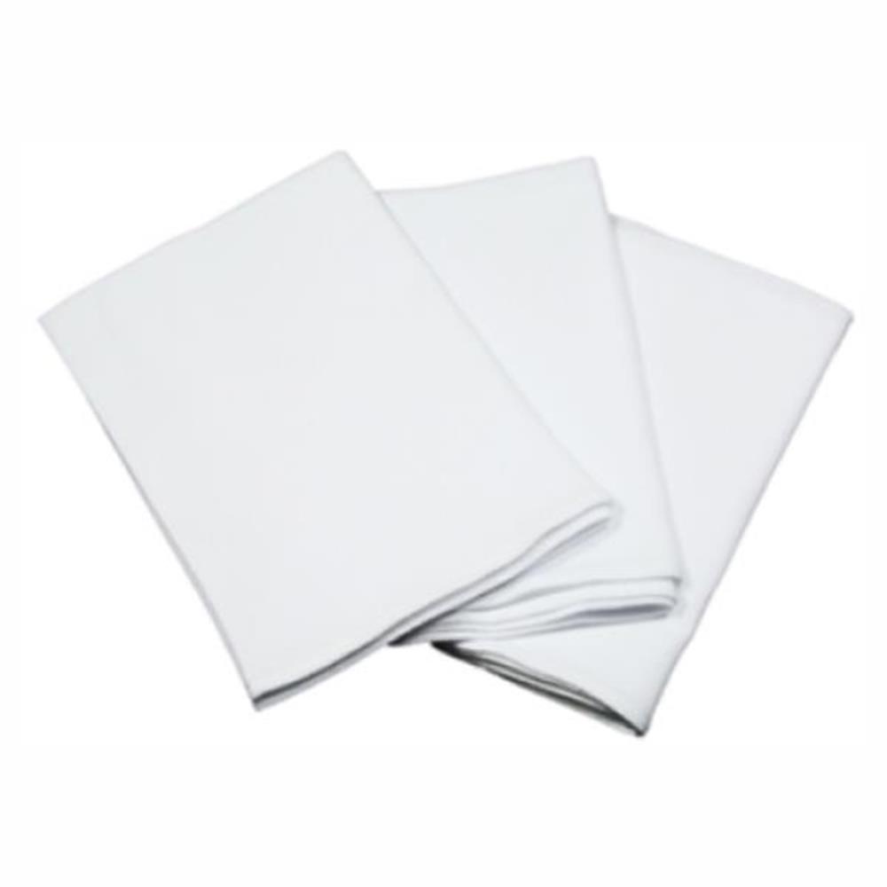 Pano de Prato Branco Liso 40X60cm