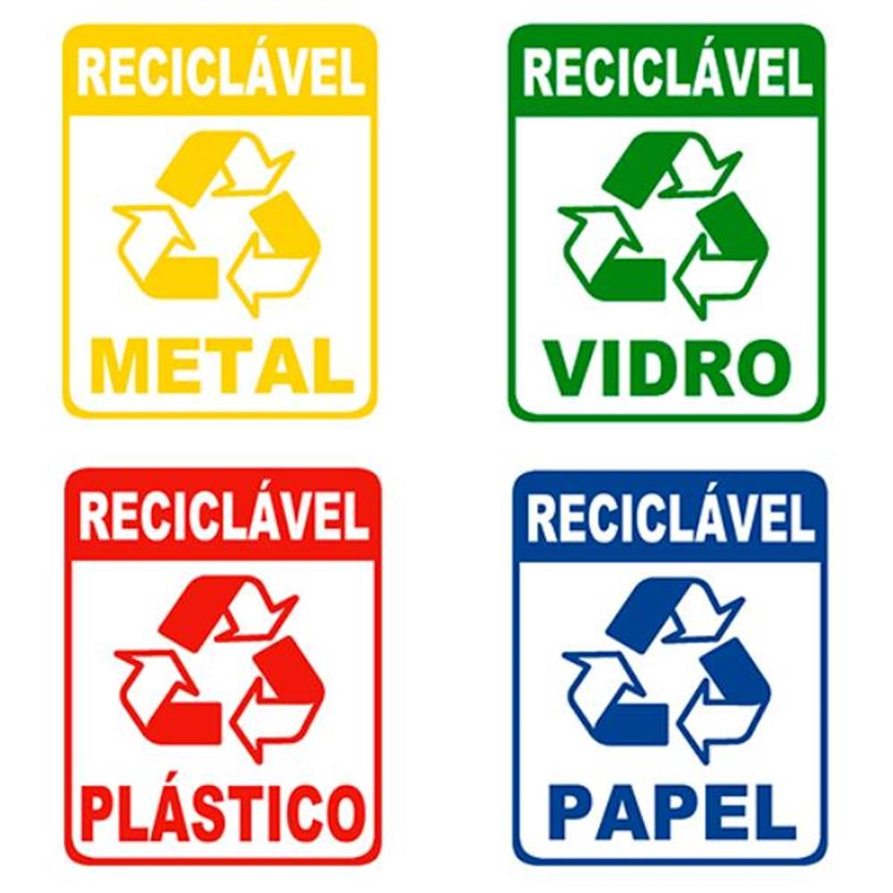 Adesivo para Recicláveis-15x20