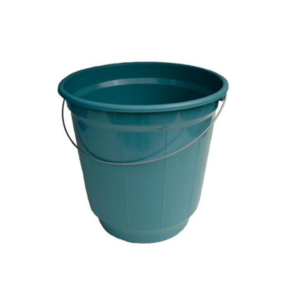Balde Plástico com Alça Metálica - 13,6L