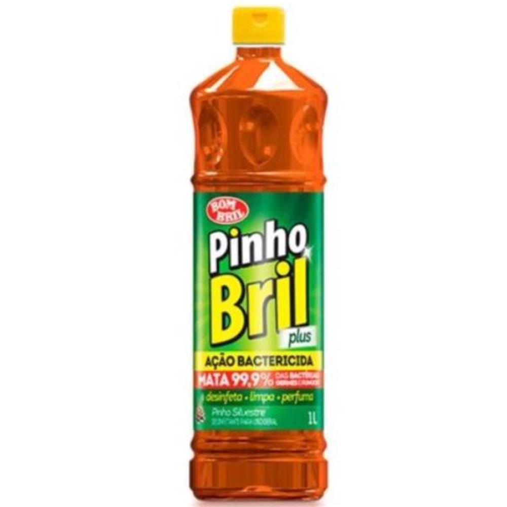 Desinfetante Pinho Bril Plus Tradicional - 500mL