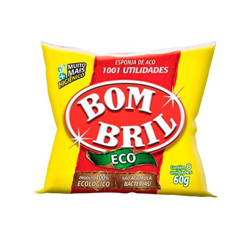 Esponja de Aço Bombril - 8 unid.