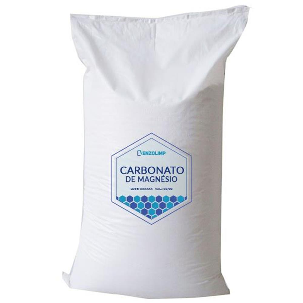 Carbonato de Magnésio - 15kg (Saco)