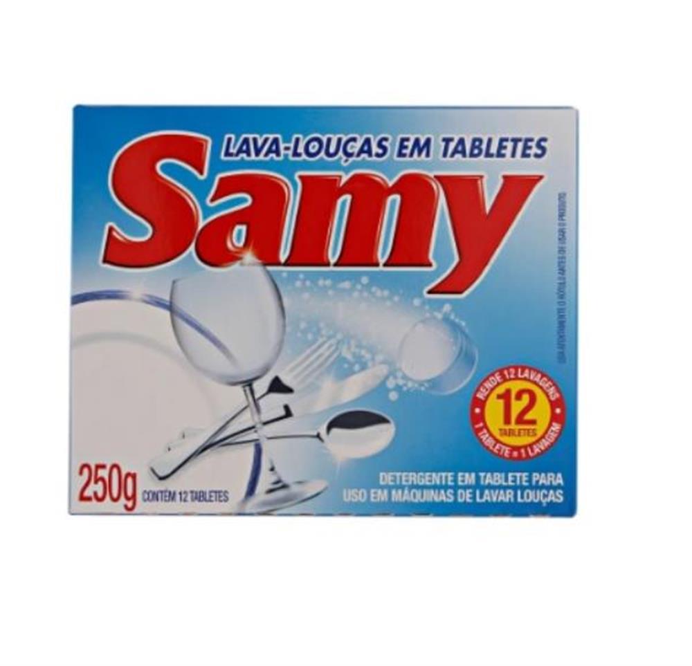 Tabletes para Máquinas de Lavar Louças-Samy 250g