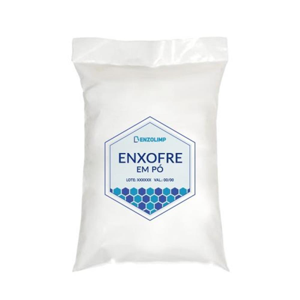 ENXOFRE EM PÓ (PE) 1kg (CF 2802.00.00) (C R):4 Cod.ONU:1350 Grupo Emb:III)