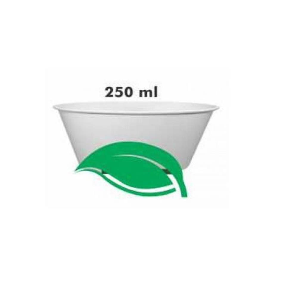 Pote de Papel 250ml Biodegradável