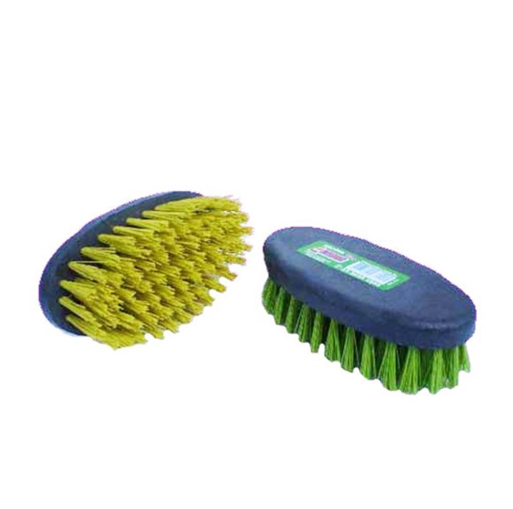 Escova de Nylon Oval Base de Plástico