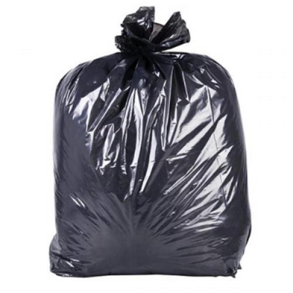 Saco de Lixo Preto - 100 unid