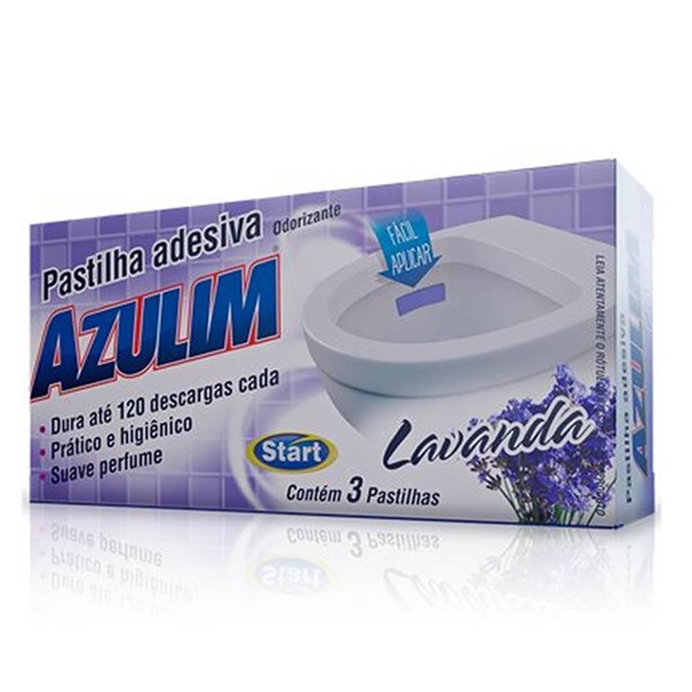 PASTILHA ADESIVA AZULIM START (CX C/3 UN)