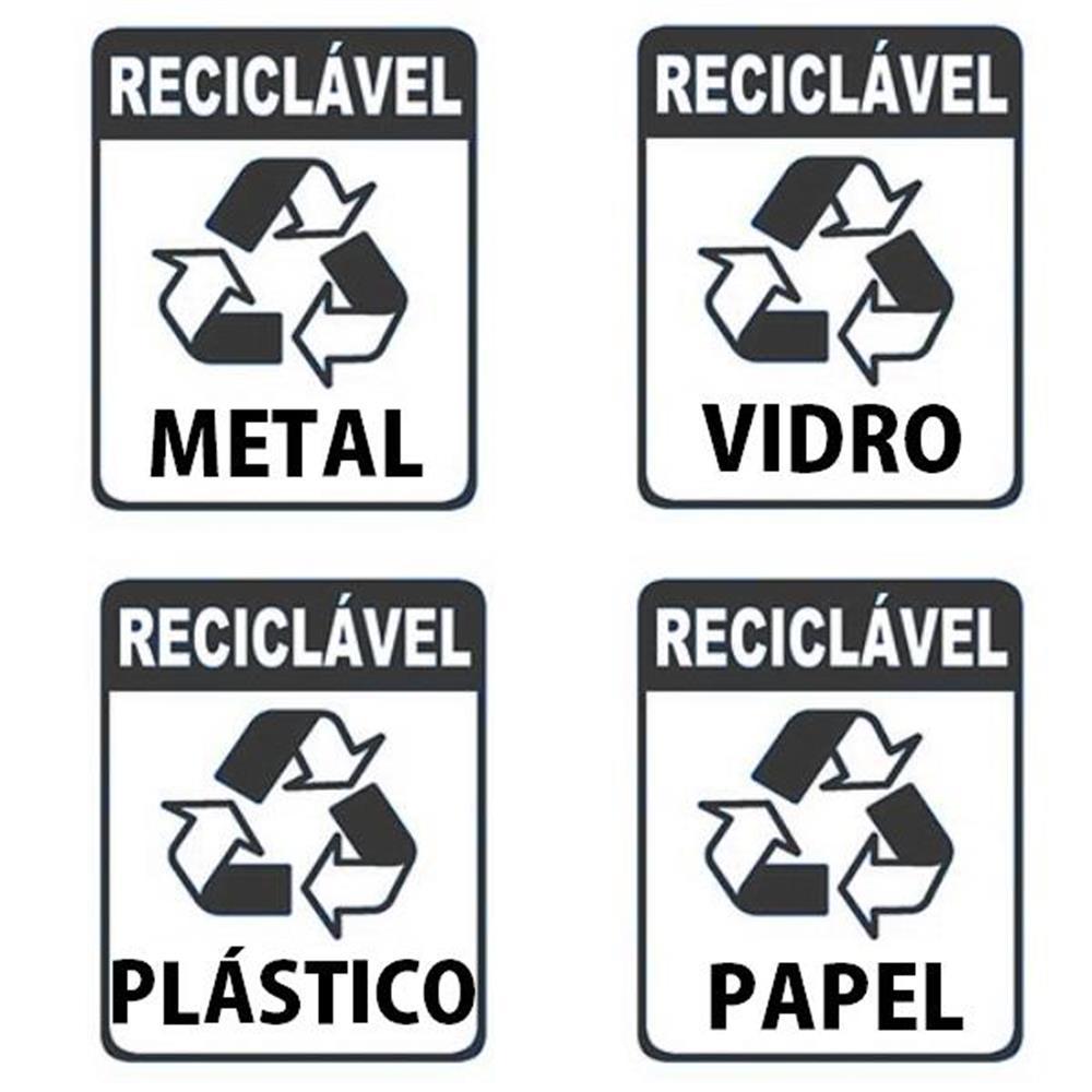 Adesivo para Recicláveis-8x10cm