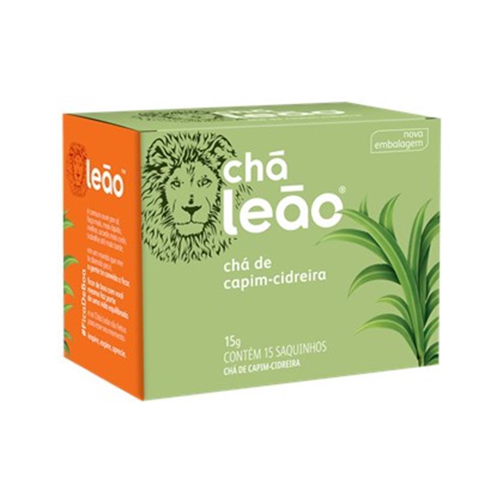 Chá Leão Fuze Capim-Cidreira - 15 Saches de 15g