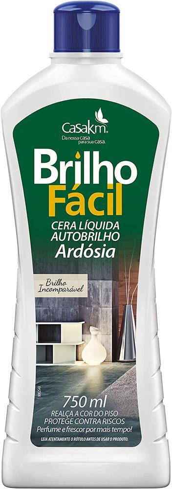Cera Líquida Brilho Fácil Ardósia - 750mL
