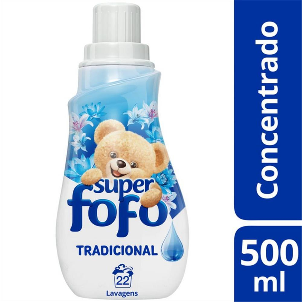 Amaciante Concentrado tradicional Fofo 500ml