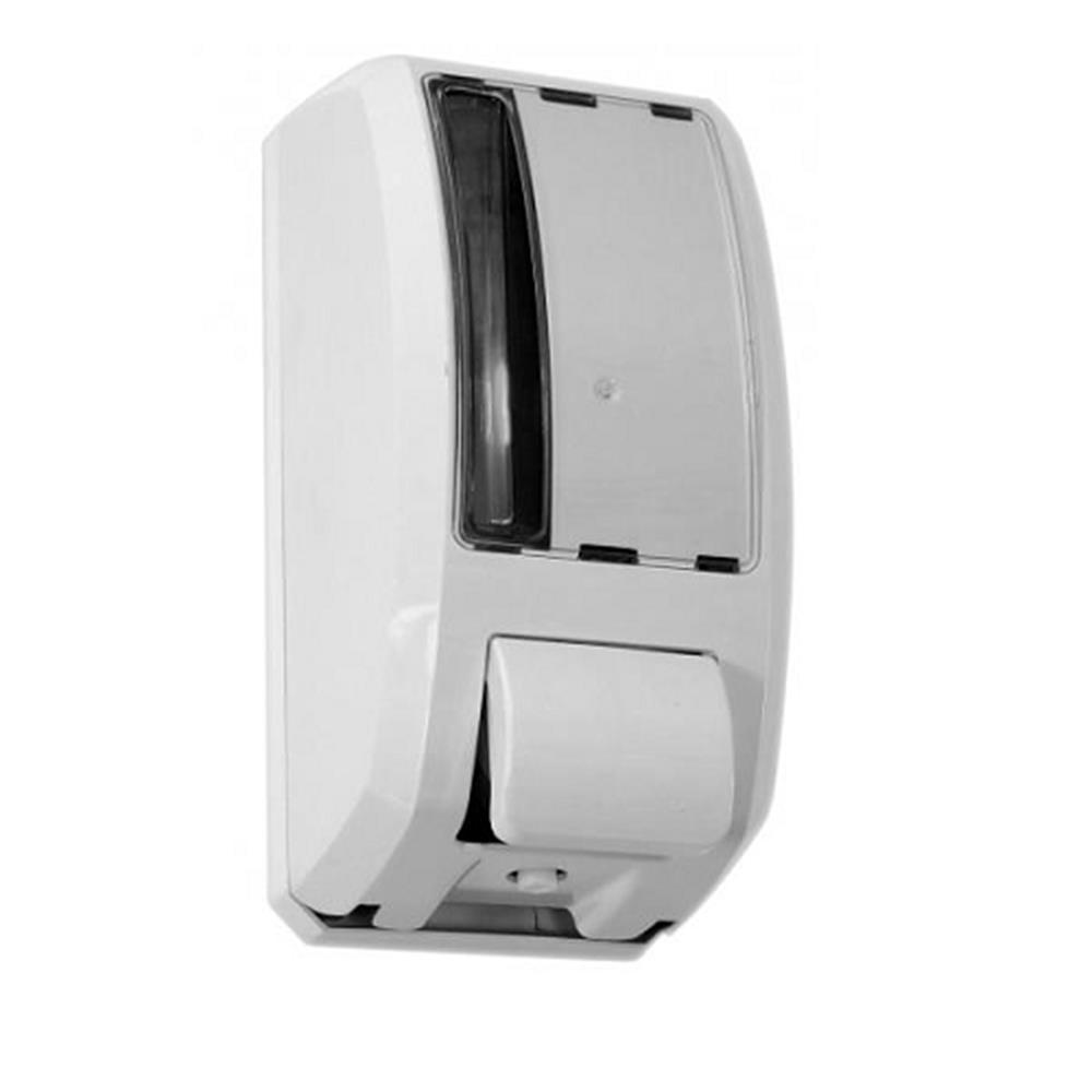 Saboneteira Plástica branca c/ reservatório 1Lt Elite