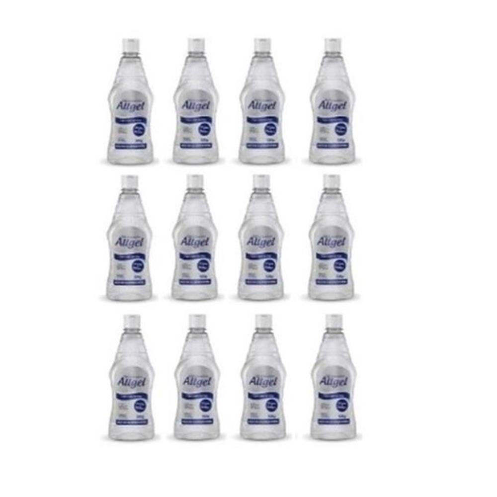 Álcool em Gel 70° Antisséptico para Mãos Allgel - (CX c/12 unid. 500g)