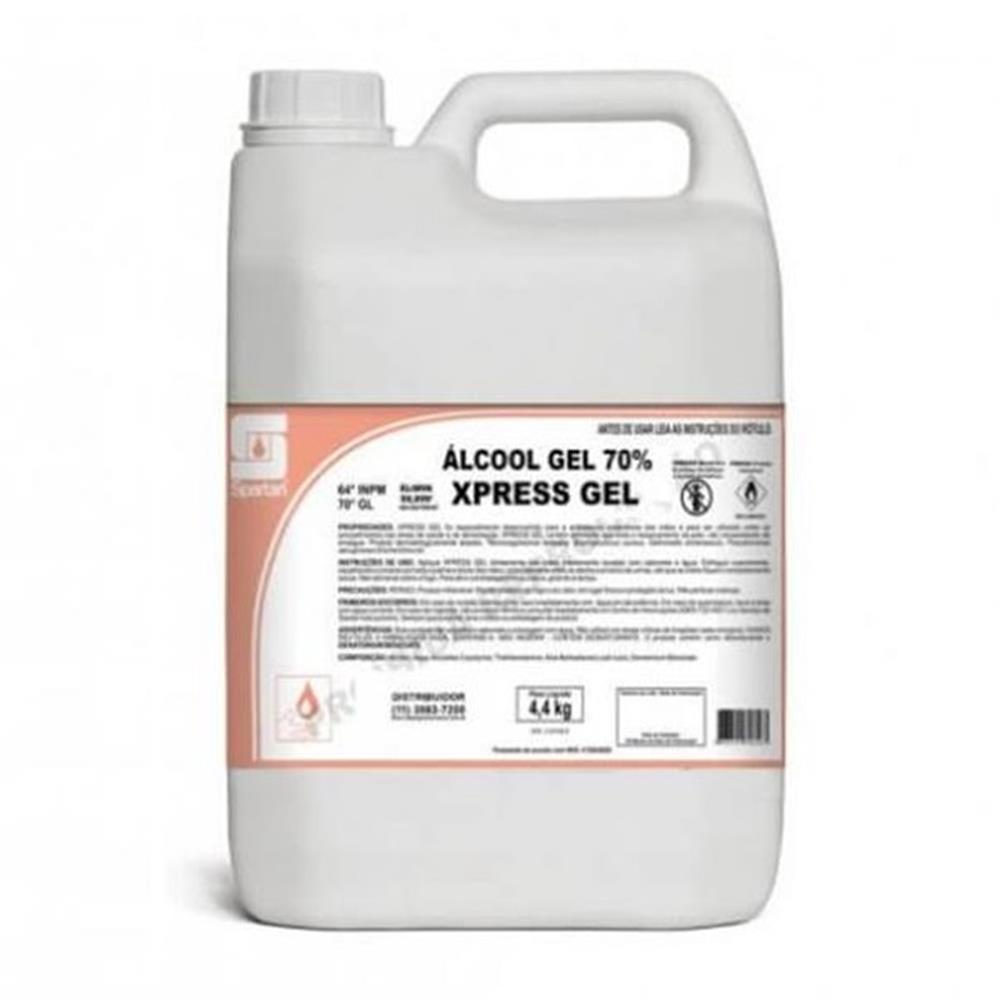 Kit - Álcool Gel 70º Antisséptico p/Mãos Spartan-Gl.5lts + Tapete Sanitizante 40x50cm