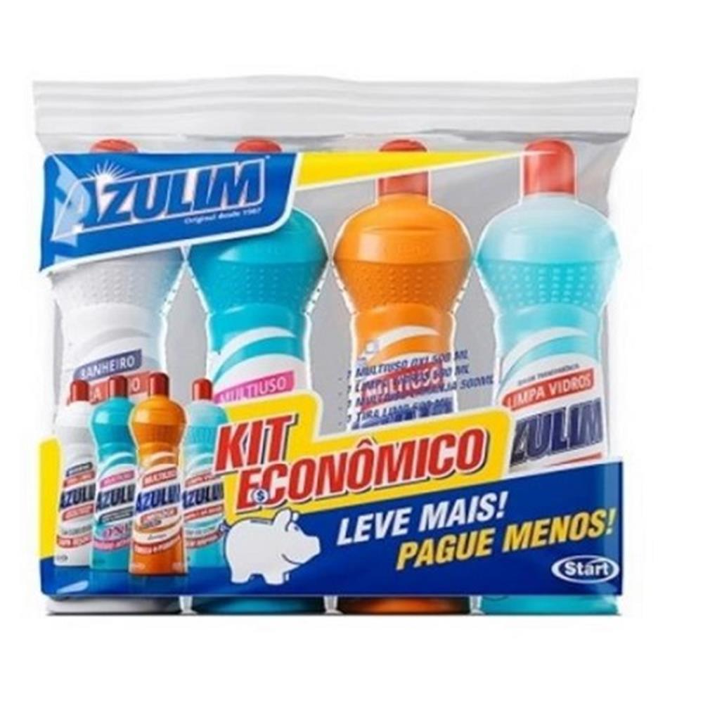 Kit Econômico com 4 Multiuso Azulim