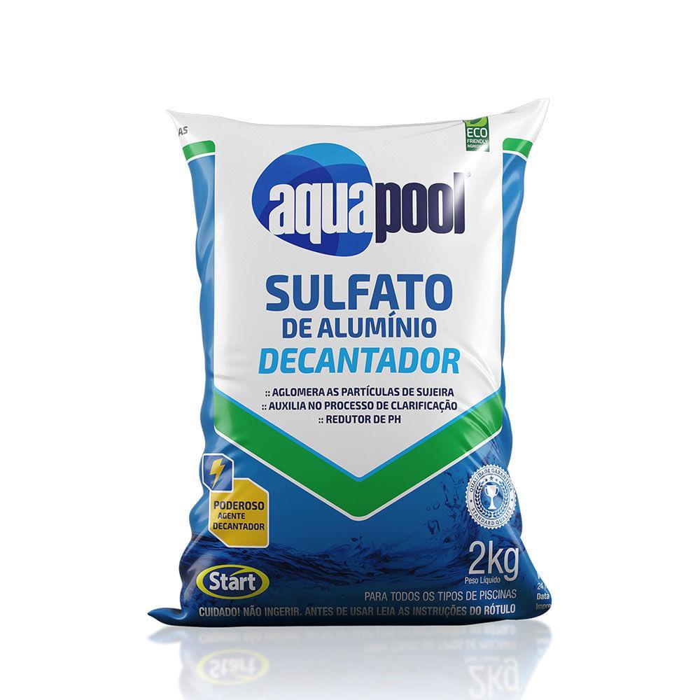 Sulfato de alumínio Decantador Aquapool granulado 2K