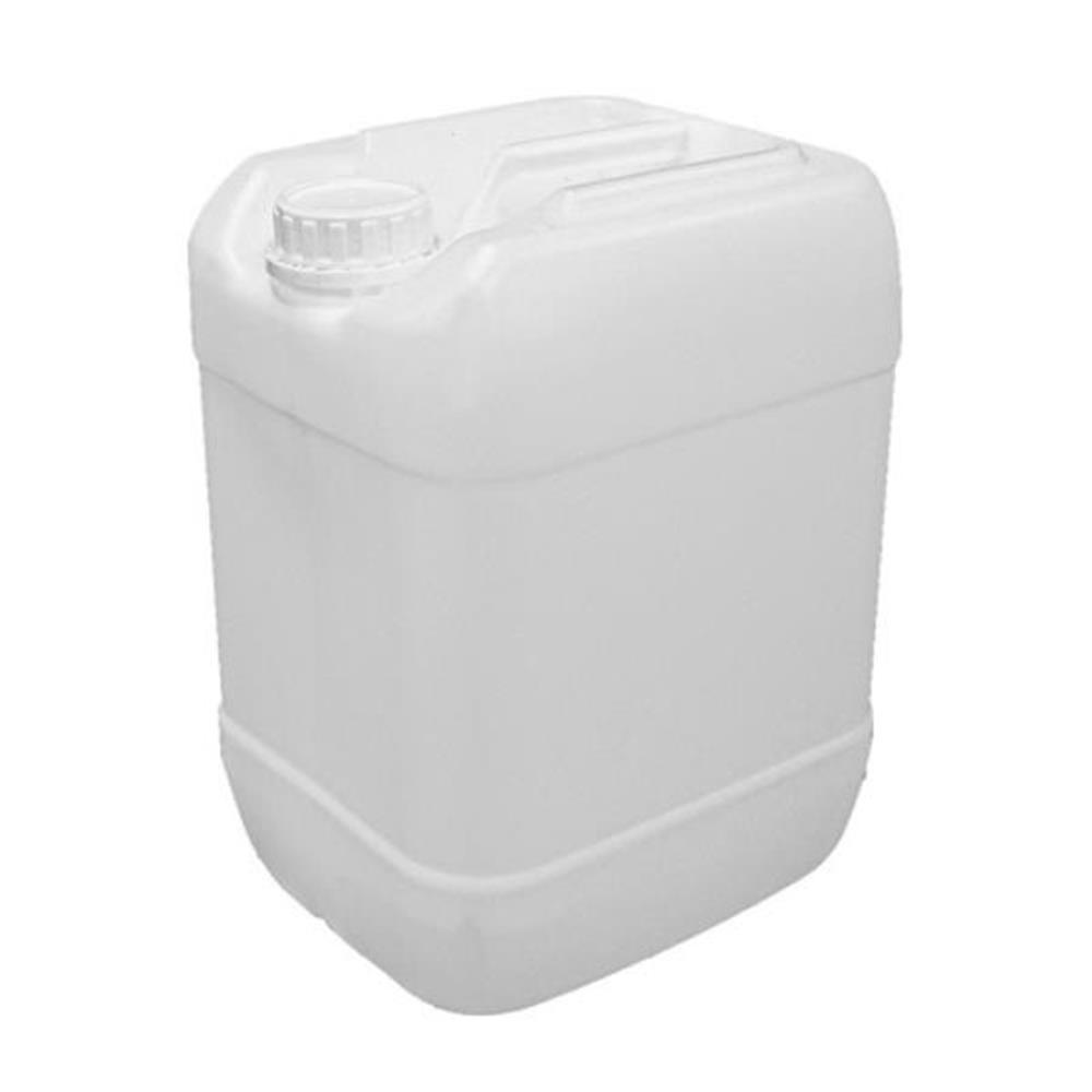 Emb. Bombona Plástico Virgem Quadrada (20 LT) com Lacre e Batoque