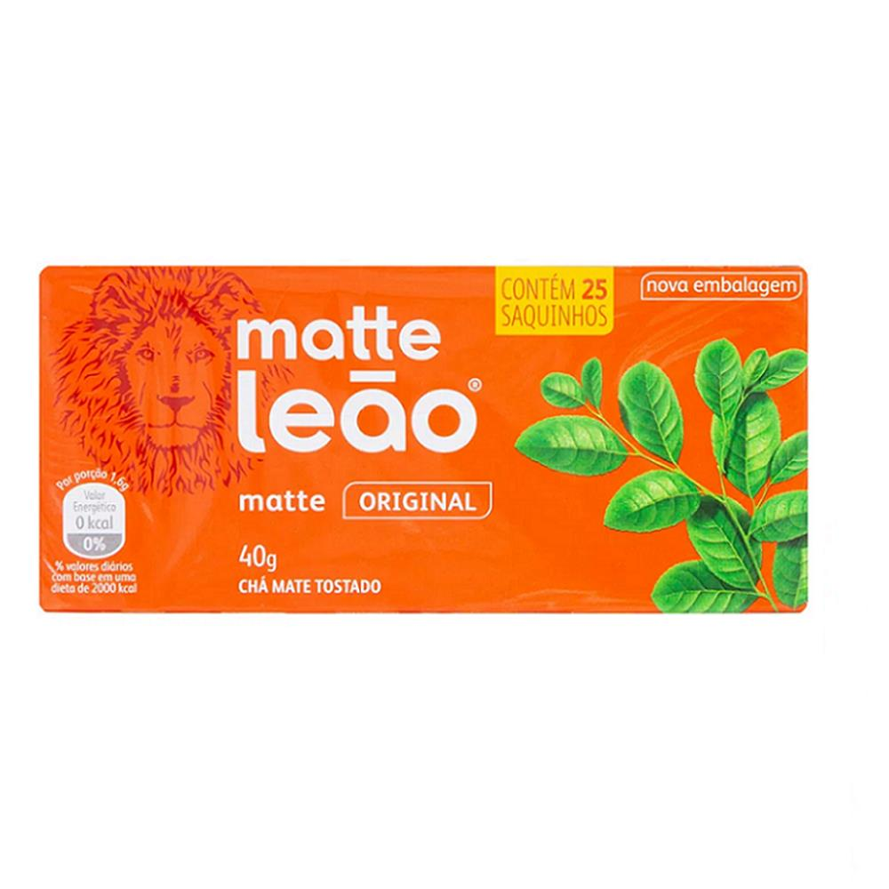 Chá Matte Leão - 25 Saches de 40g