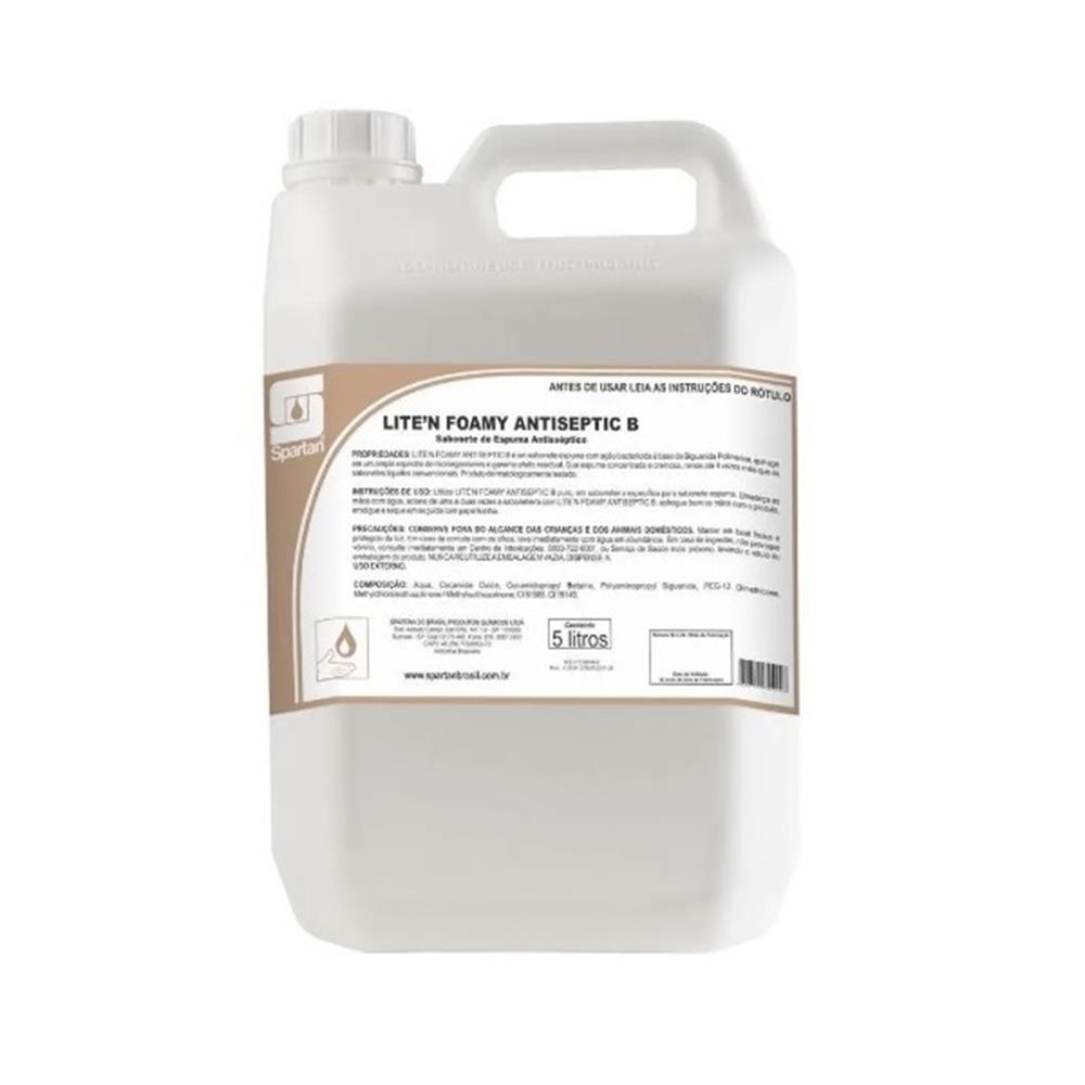 Sabonete Líquido Antisséptico Neutro Spartan - 5L