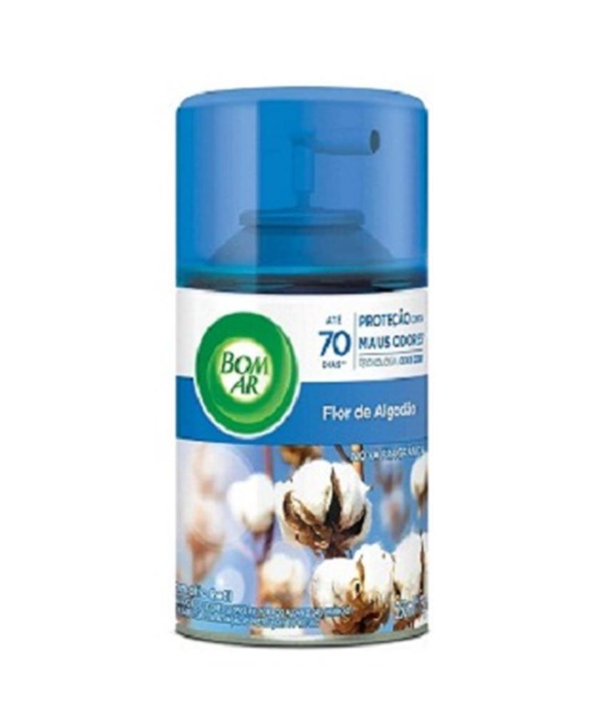Odorizador Bom Ar Automático Fresh Matic Refil - Flor de Algodão - 250ml