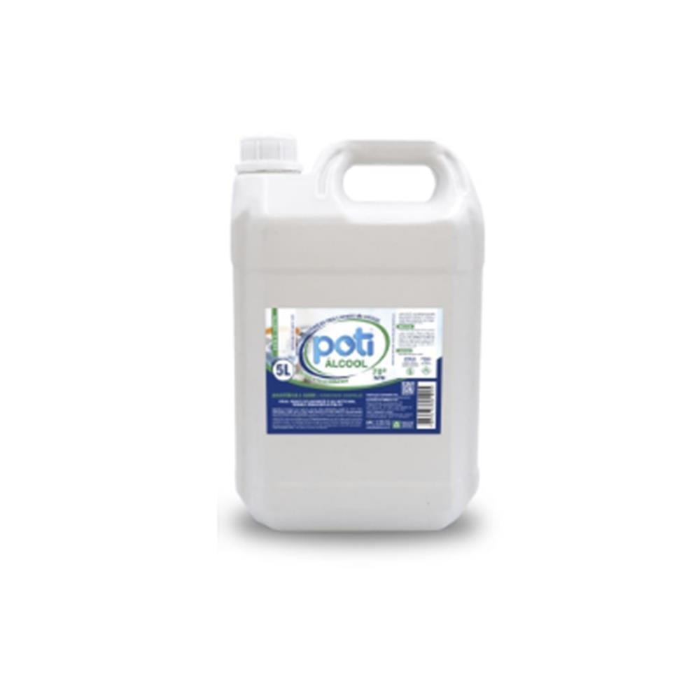 Álcool Líquido 70° Antisséptico Poti - 5L