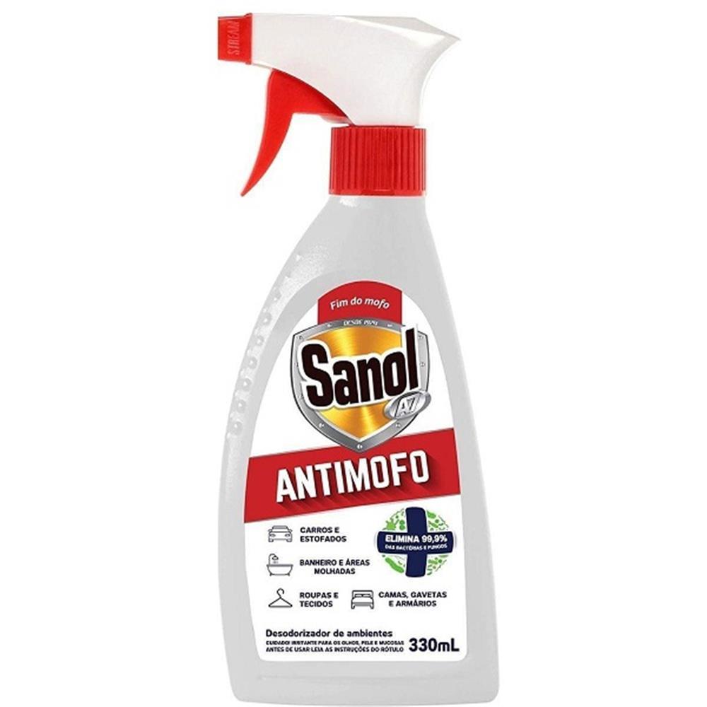 Antimofo Sanol A7 com Gatilho - 330mL