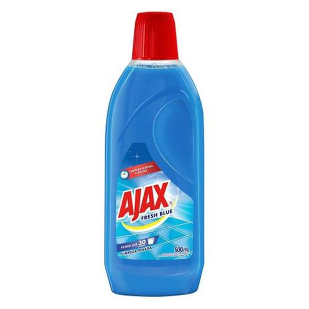Limpador Ajax Fresh Blue - 500mL