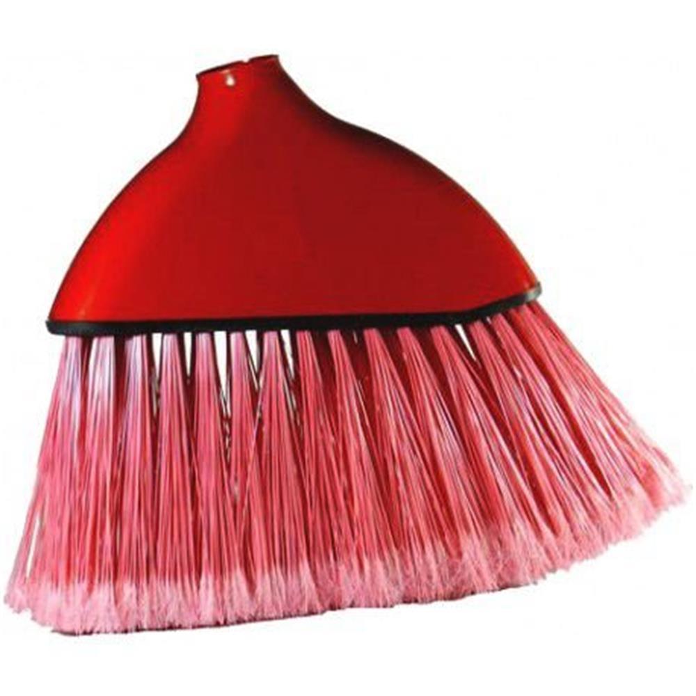 Vassoura Plástica de Nylon Varre Canto
