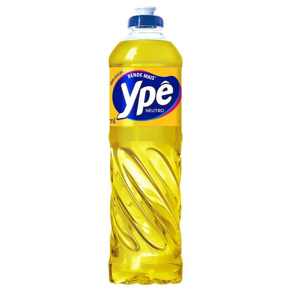 Detergente Ypê Neutro - 500mL