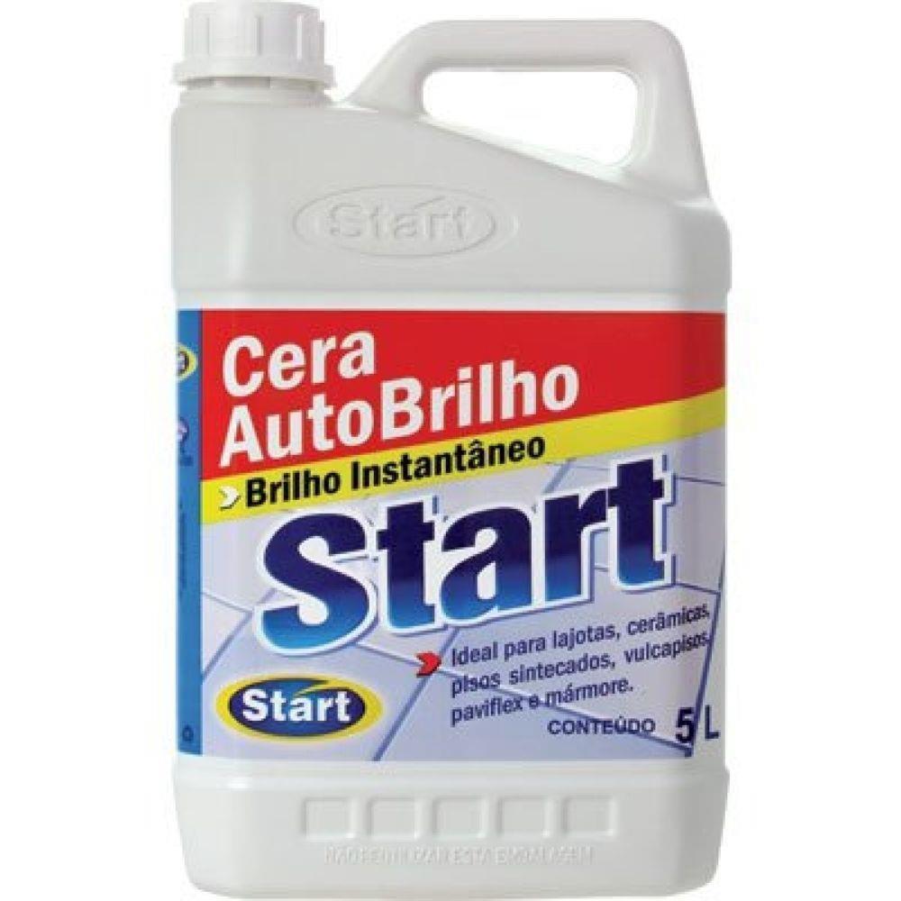 Cera Líquida Auto Brilho Start  5 L - Caixa com 4 unidades