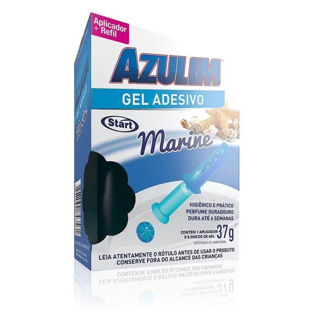 Gel Adesivo Azulim (Aparelho + Refil) 37g - Marine