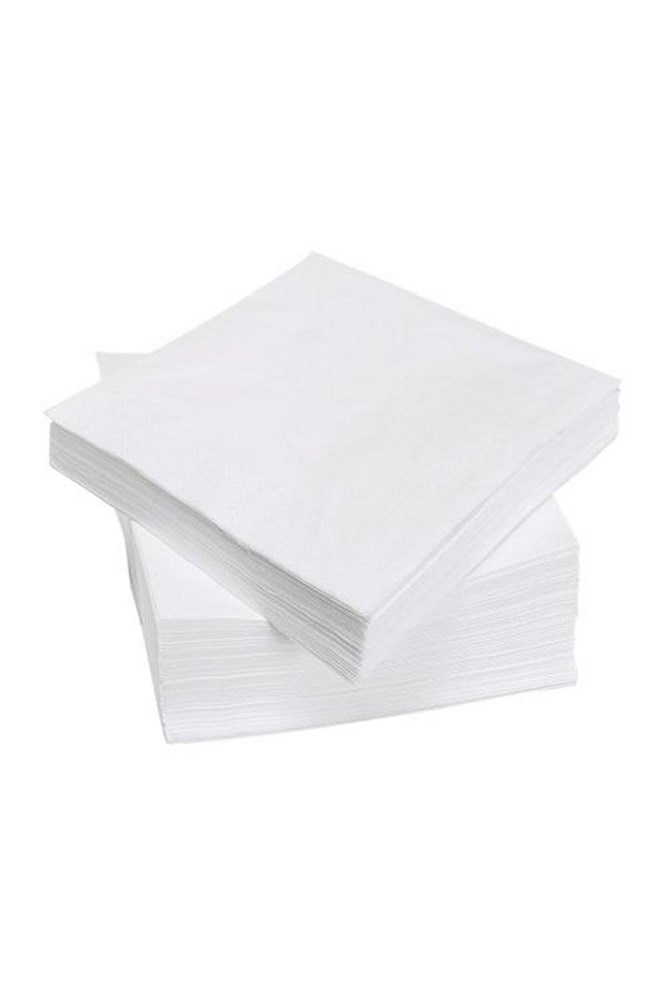 GUARDANAPO 50 UNID 20X22 -  WHITE PAPER
