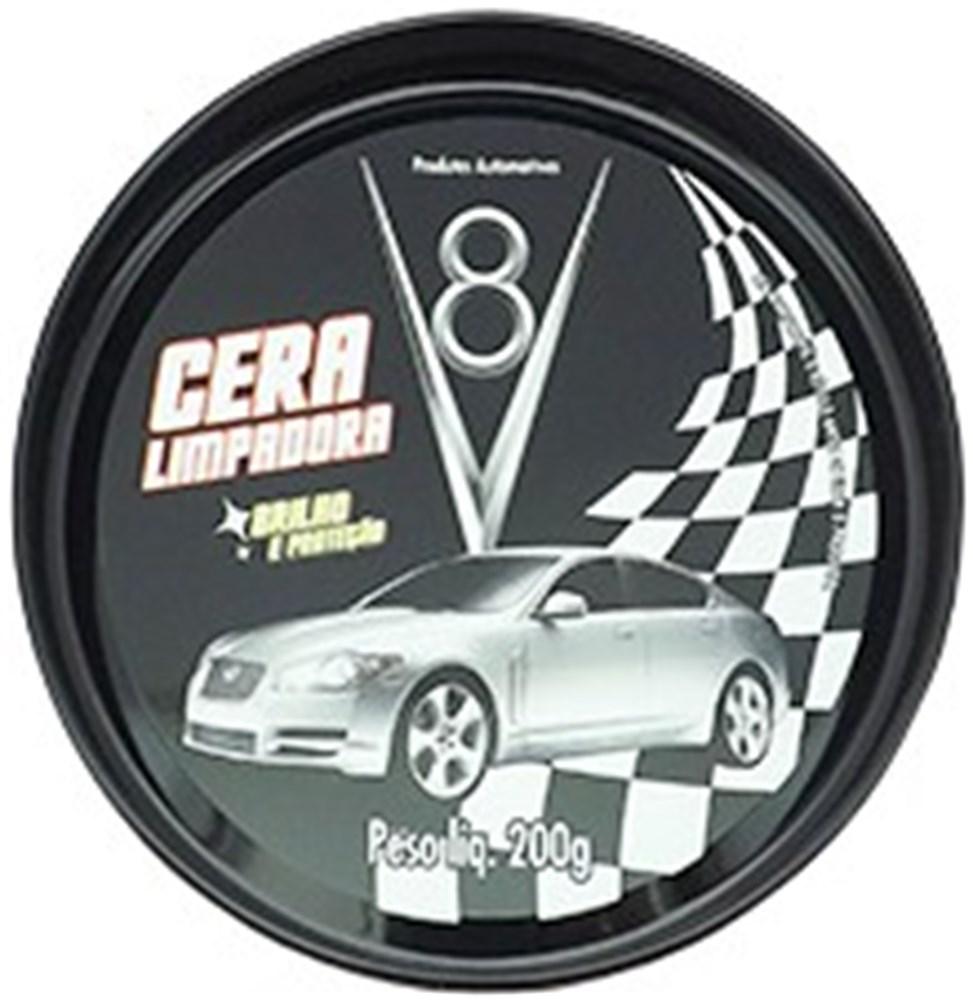 Cera Automotiva V8 - 200g