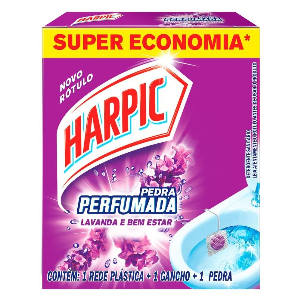 Pedra Sanitária Harpic Perfumada Lavanda - 20g