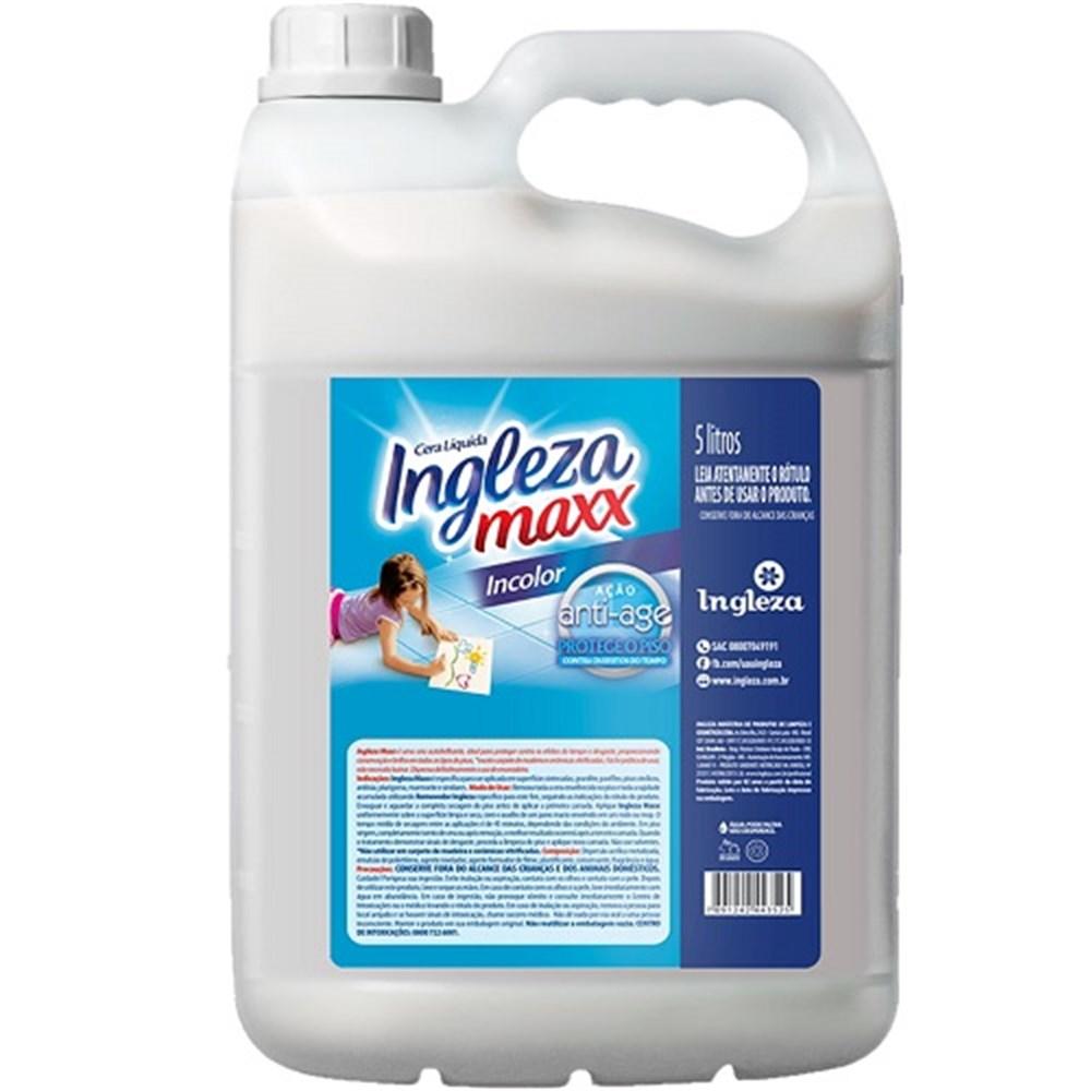 Cera Líquida Ingleza Maxx Incolor - 5L