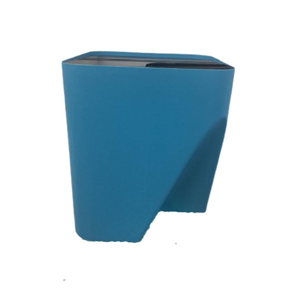 Lixeira Reciclável - Empilhável Eco Way - 25L - Cor: Azul